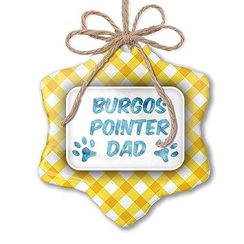 Amazon.com: NEONBLOND Christmas Ornament Dog & Cat Dad ...