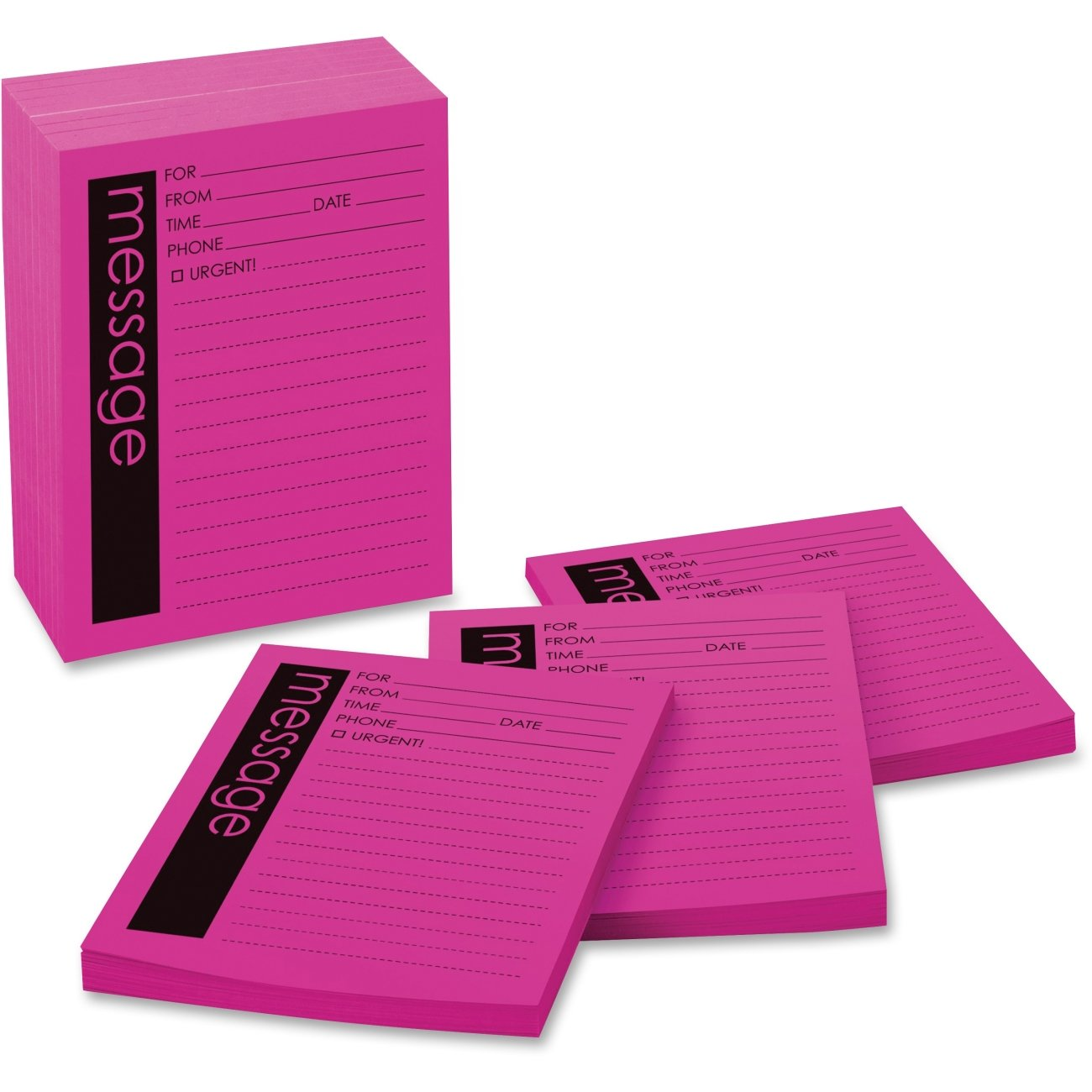 3M Post-it Telephone Message Pad MMM 7662-12 MMM7662 (Box of 3 Packs) by Post-it