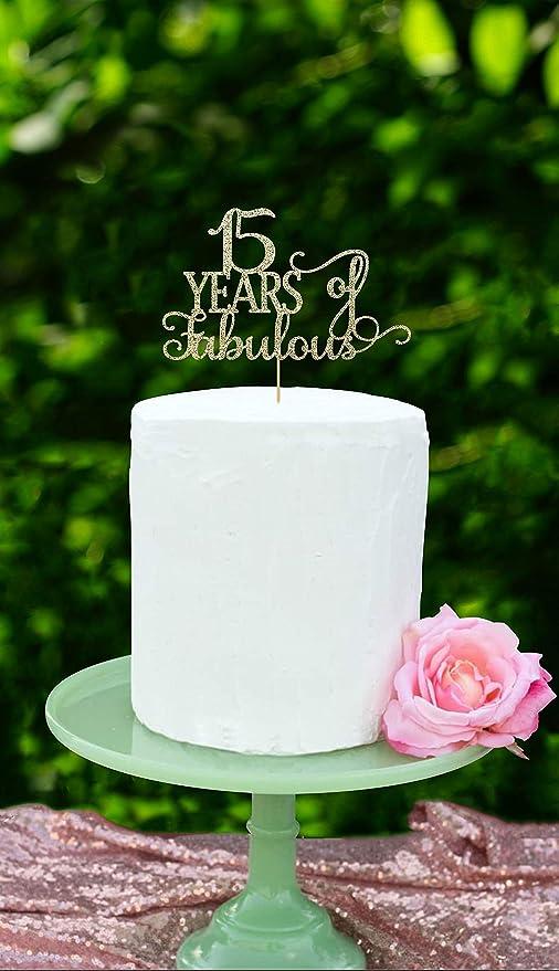 15 años de fabuloso cumpleaños 15, 15 cumpleaños, 15 ...