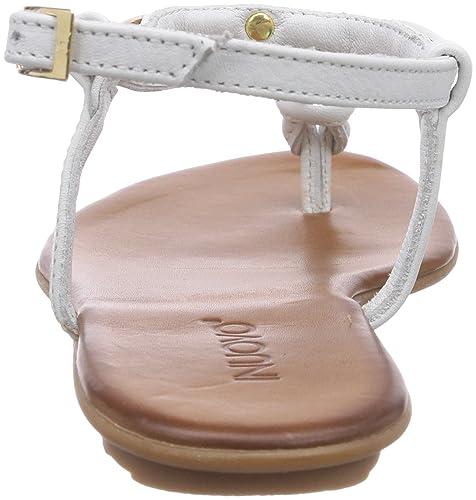 Bianco Inuovo white Donna 36 Sandali Leather Sunkiss Aperti wFRIqg