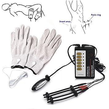 Amazon.com: Descarga eléctrica fisioterapia aparato de ...