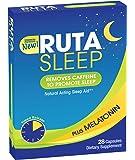 RutaSleep: 3mg Premium Melatonin with Decaffeinating Sleep Aid! Rapid Jet Lag Recovery!