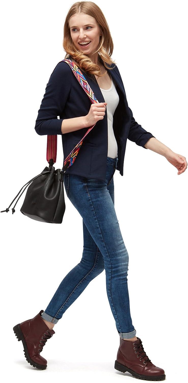 TOM TAILOR Denim Damen Structured Jersey Blazer Anzugjacke