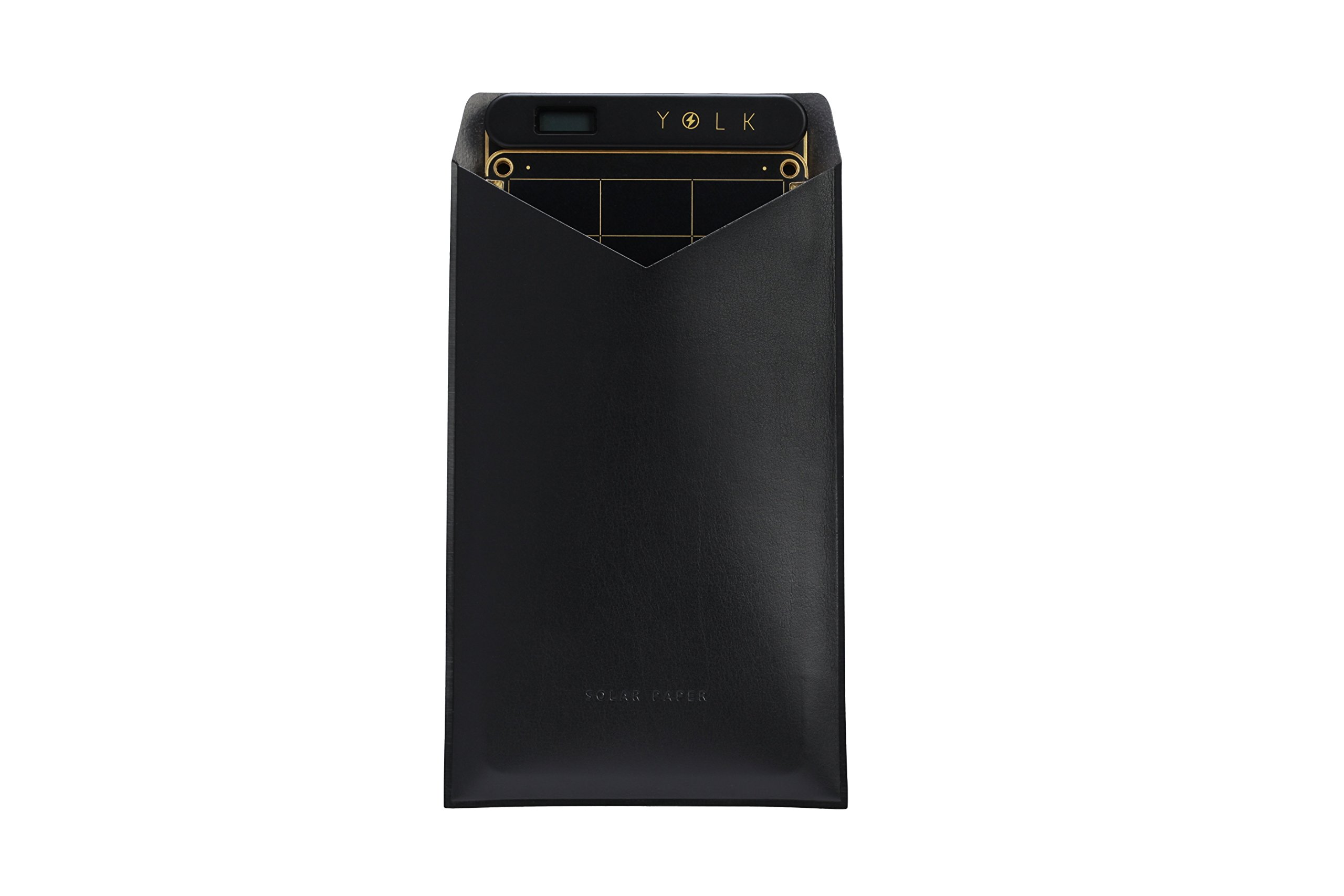 Solar Paper + Pouch, Paper-thin and Light Portable Solar Charger with Ultra-High-Efficiency (5W) by YOLK (Image #7)