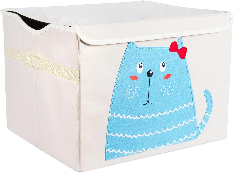 13 x 13 x 13 Cube Organizers, -Monkey Books DII Nursery Storage Bin for Toys Clothing