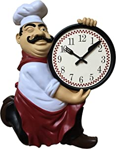 Chef Wall Clock 12