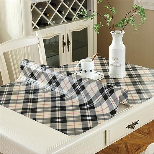 PVC-Tablecloth Protector Anti-Caliente Impermeable De ...