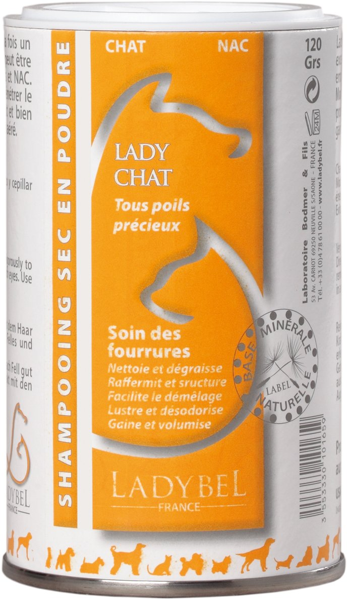 Ladybel - Shampooing Ladybel Lady Chat Contenances : 120 g toutavendre SHACHA120GR 271-513