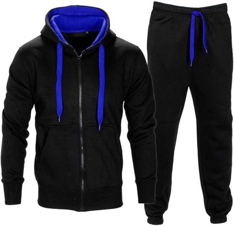 Kids Contrast Cord Fleece Full Zip up Kids Tracksuit Hoodie Gym Suit Jogging Joggers