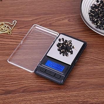 Básculas de Cocina, Ecotrumpuk Mini herramienta digital electrónica de alta precisión para pesas de hierbas