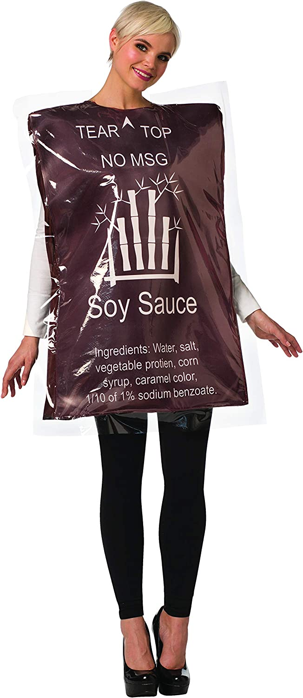 Rasta Imposta Soy Sauce Packet Women's Costume