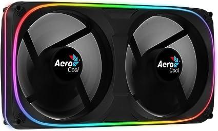 Aerocool ASTRO24 ventilador doble PC 12 cm, RGB Dual, soporte ...
