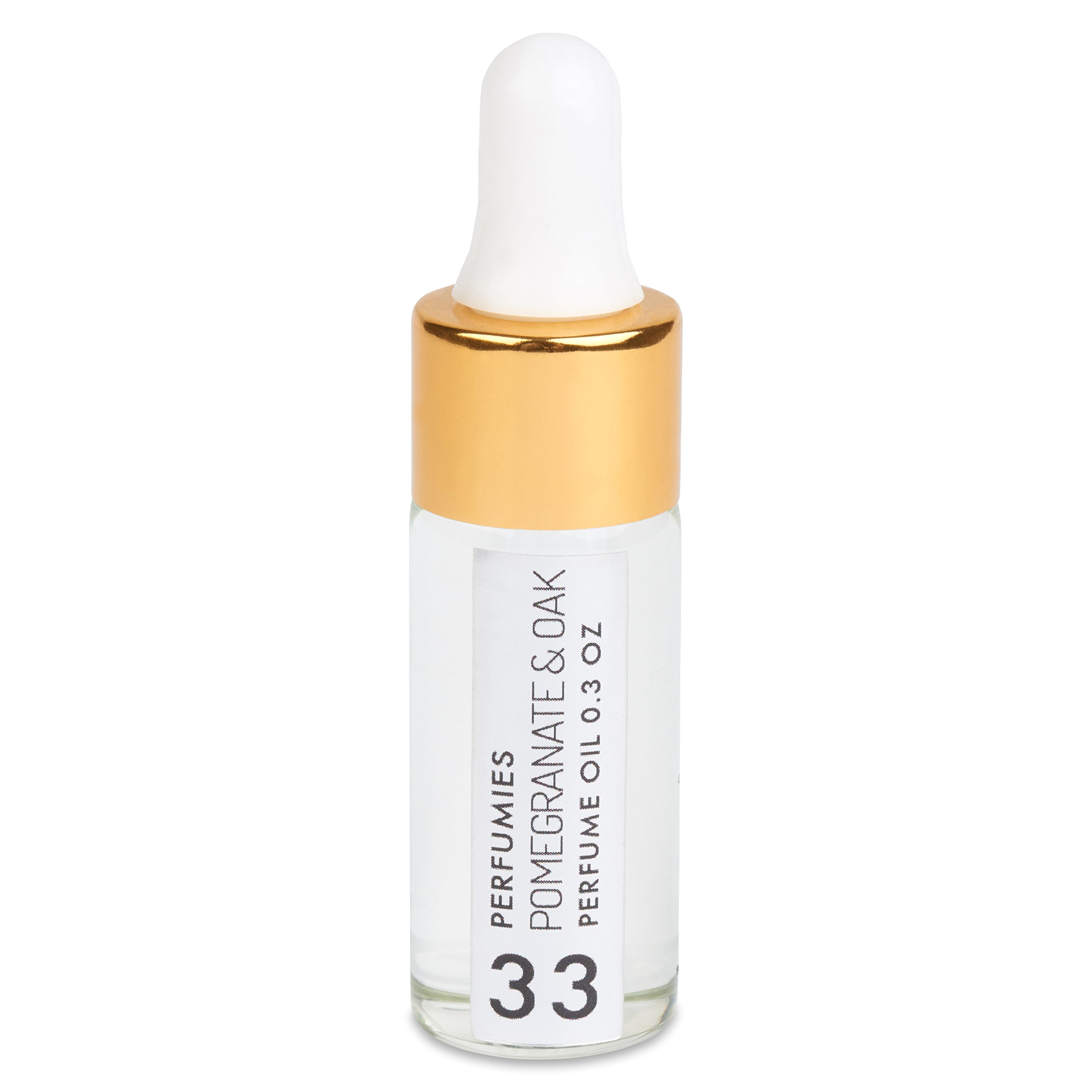 Perfumies Pomegranate & Oak Travel Perfume Oil Dropper Bottle No. 33