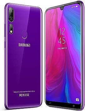 Moviles Libres Baratos 4G, Smartphone Libres de 32GB ROM 3GB RAM 5.85 Pulgadas 3800mAh Batería Android 8.1 Quad Core Teléfono Móvil Barato Dual Micro SIM Moviles Baratos y Buenos Face ID(púrpura): Amazon.es: Electrónica