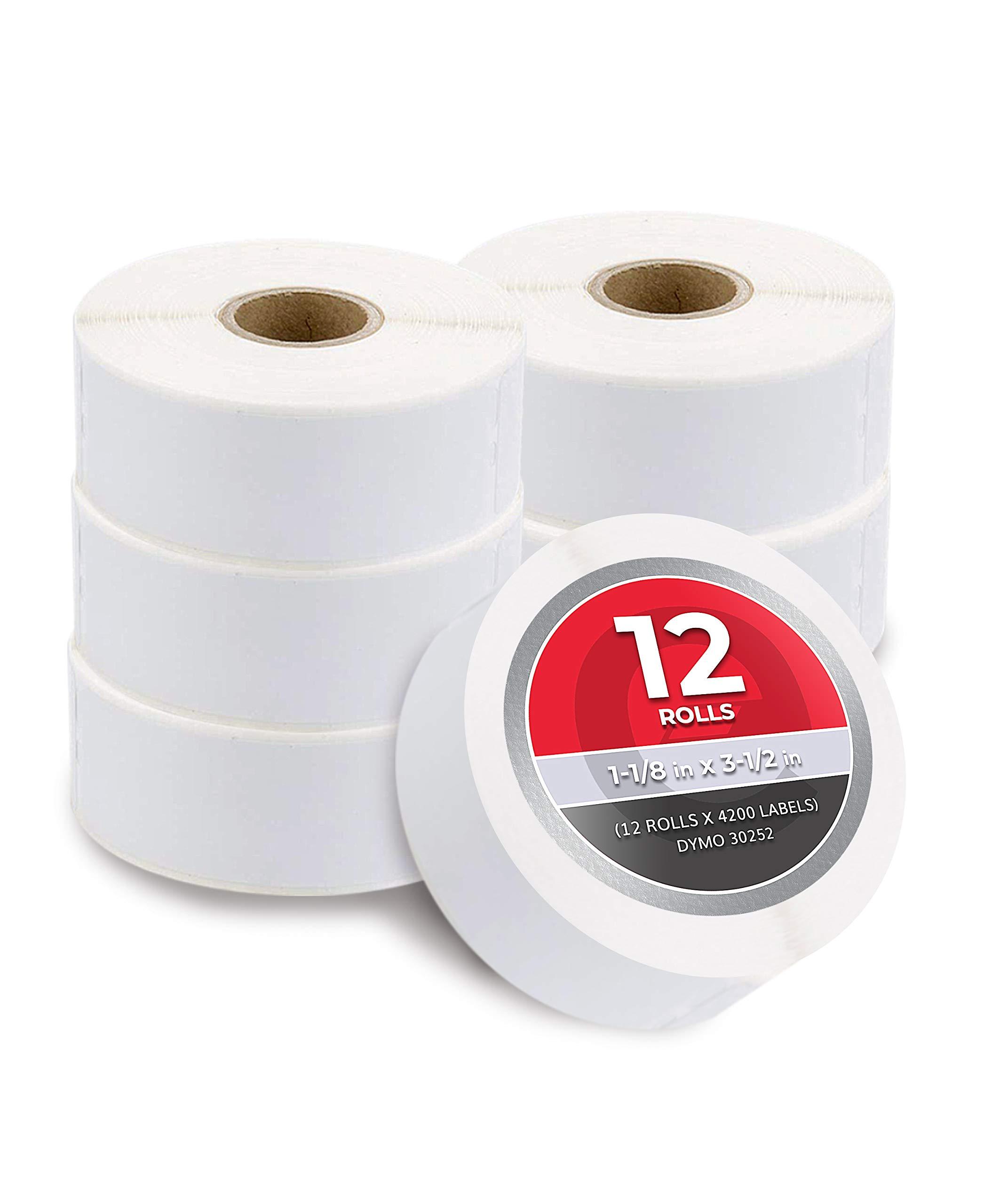 "16 Roll Address Label 30252 for DYMO LabelWriters 450 Turbo 1-1//8/"" x 3-1//2/"""