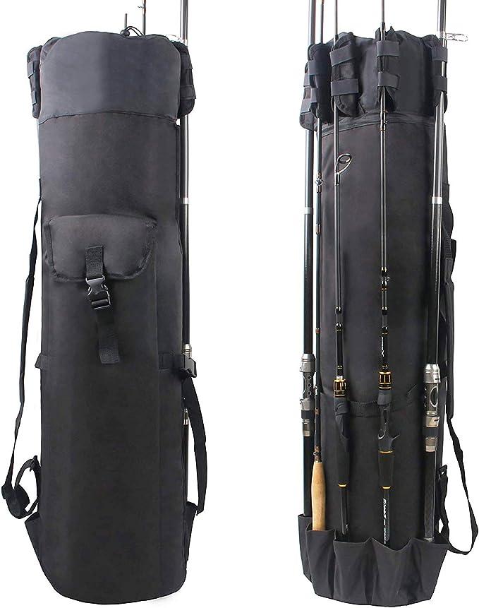 Bag Q-8 Fishing Bag Fishing Rod Bag Equipment Bag Angelrucksack Angel Backpack