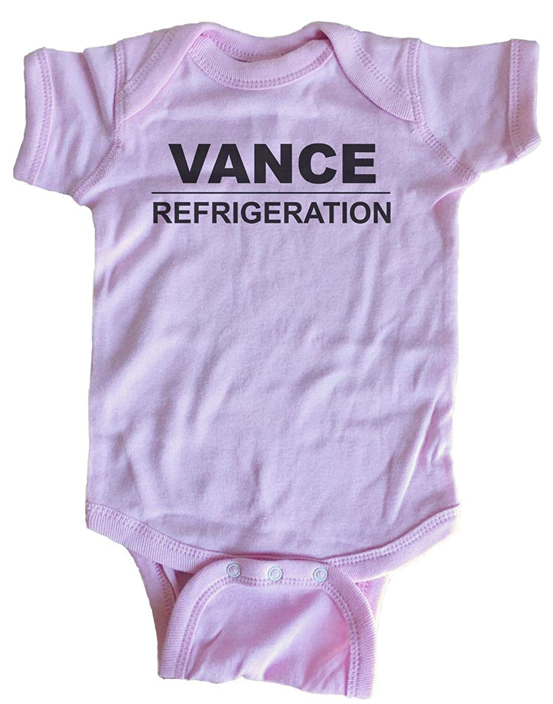 Good Clothes Co Vance Refrigeration The Office Baby One Piece
