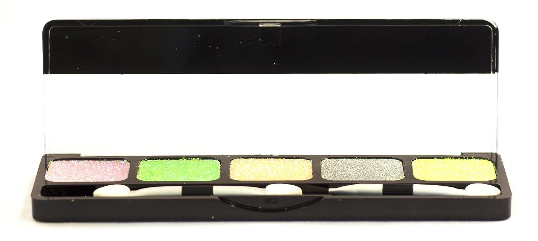 NYX, Palette da trucco multifunzione, con colori glitterati in crema per occhi, labbra e viso, Utopia, 45 g NYX-GCP03