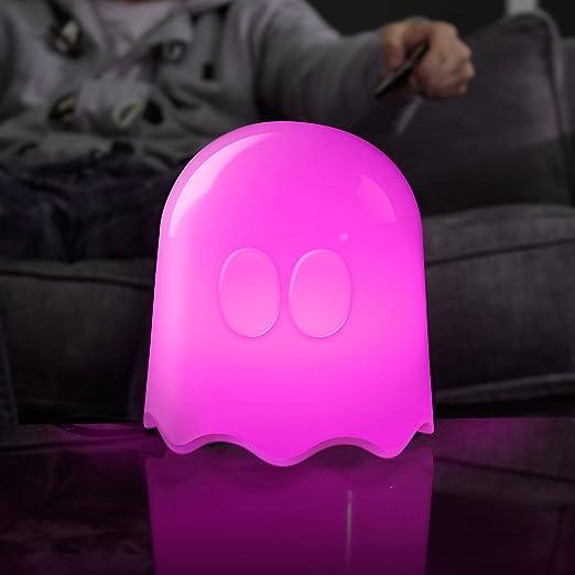 Pac Man Plastic Ghost Lamp, White