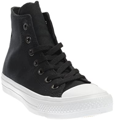 7265cbb4849 Converse Chuck Taylor All Star Ii Hi Sneaker Junior s Shoes Size 6  Black White