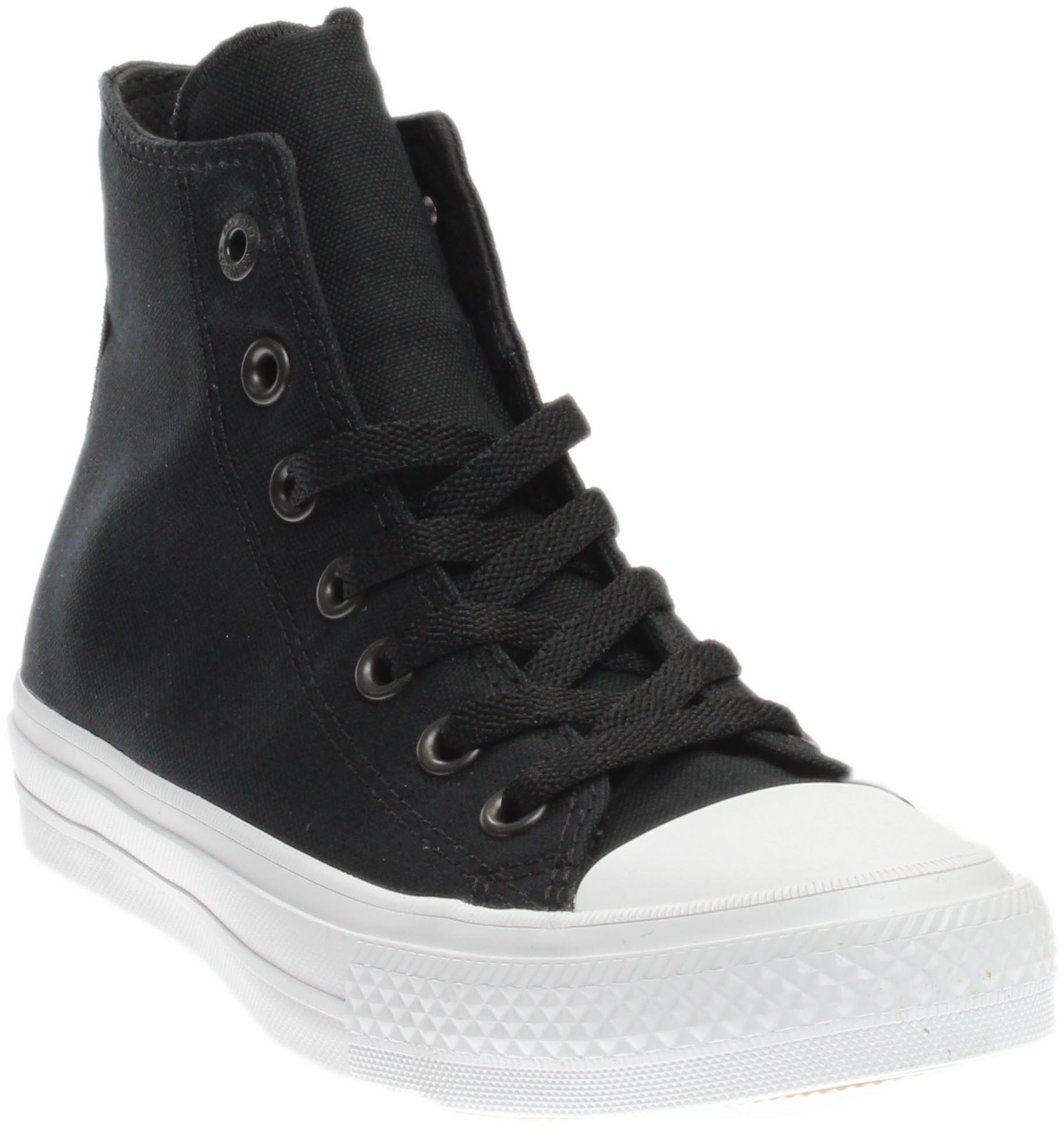085bd7270bb Galleon - Converse Chuck Taylor All Star Ii Hi Sneaker Junior s Shoes Size  5.5 Black White