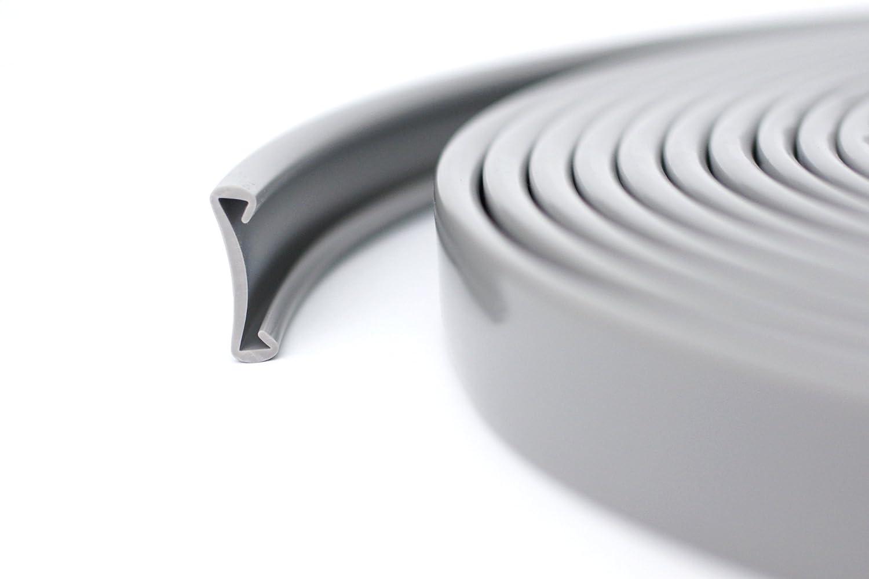 1m PVC Kunststoff Handlauf Treppenhandlauf 40x8 mm viele Farben beige
