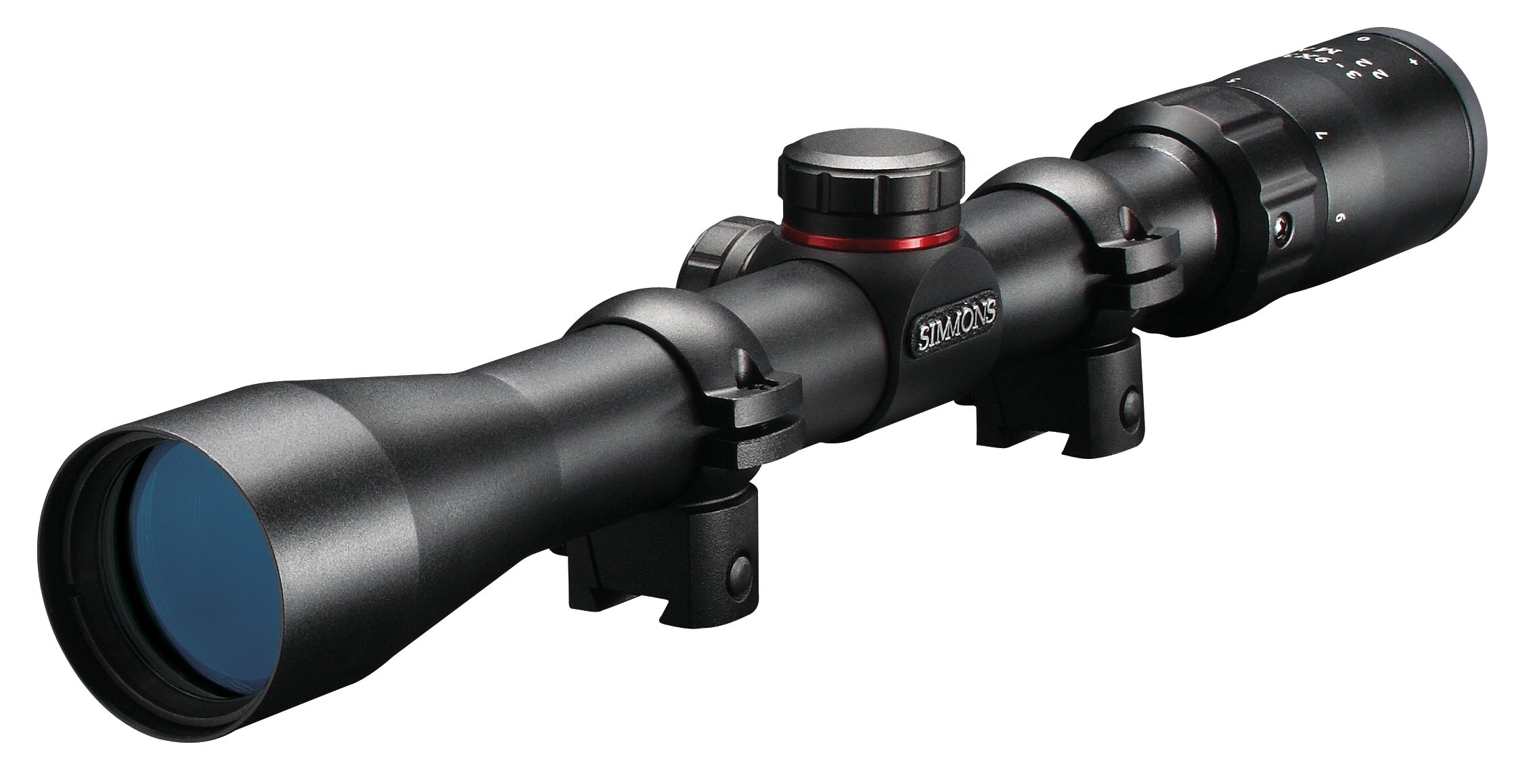 Simmons 511039 22 Mag (R) Matte Black Riflescope
