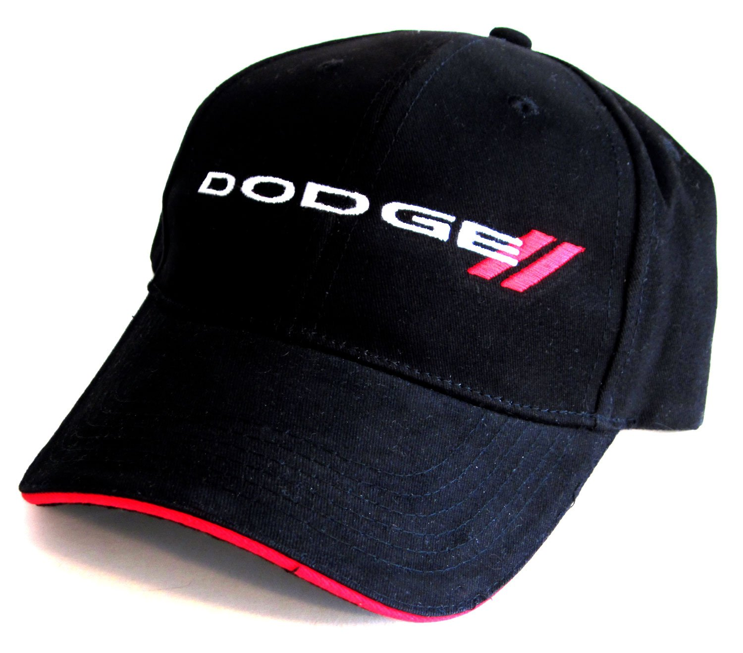 Bundle with Driving Style Decal 229-BK Gregs Automotive Dodge Logo Hat Cap in Black