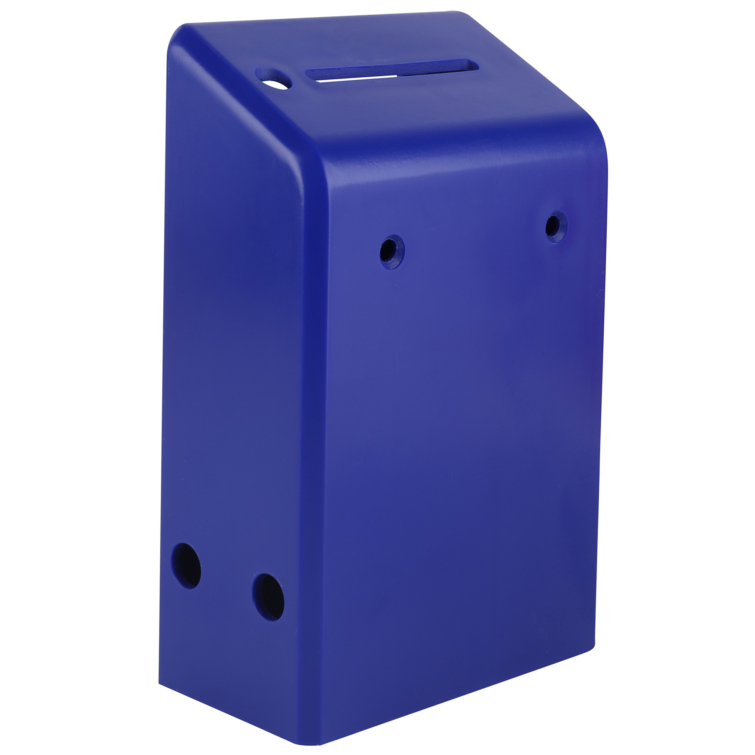 MCB - Plastic Charity Box - Donation Box - Coin Collection Box - Pack of 5 (Blue)