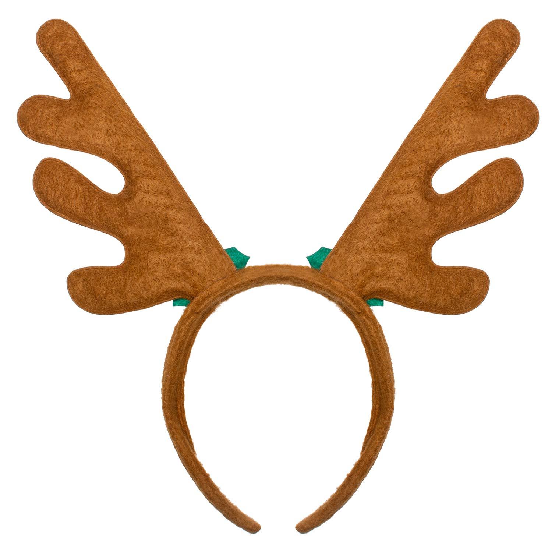 TOYMYTOY Christmas Headband Reindeer Antler Hair Hoop Headpiece for Christmas Party