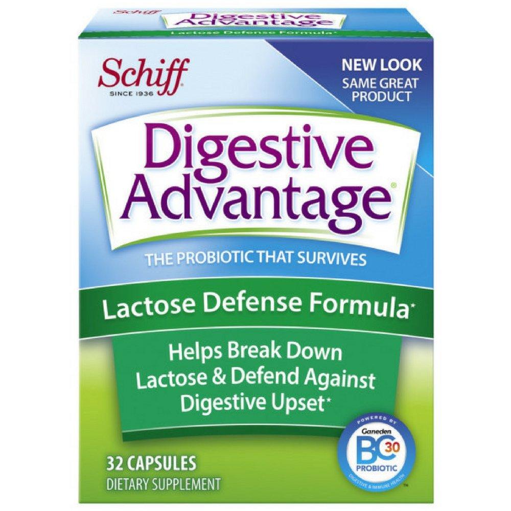 Digestive Advantage Lactose Defense  formula, 32 Capsules