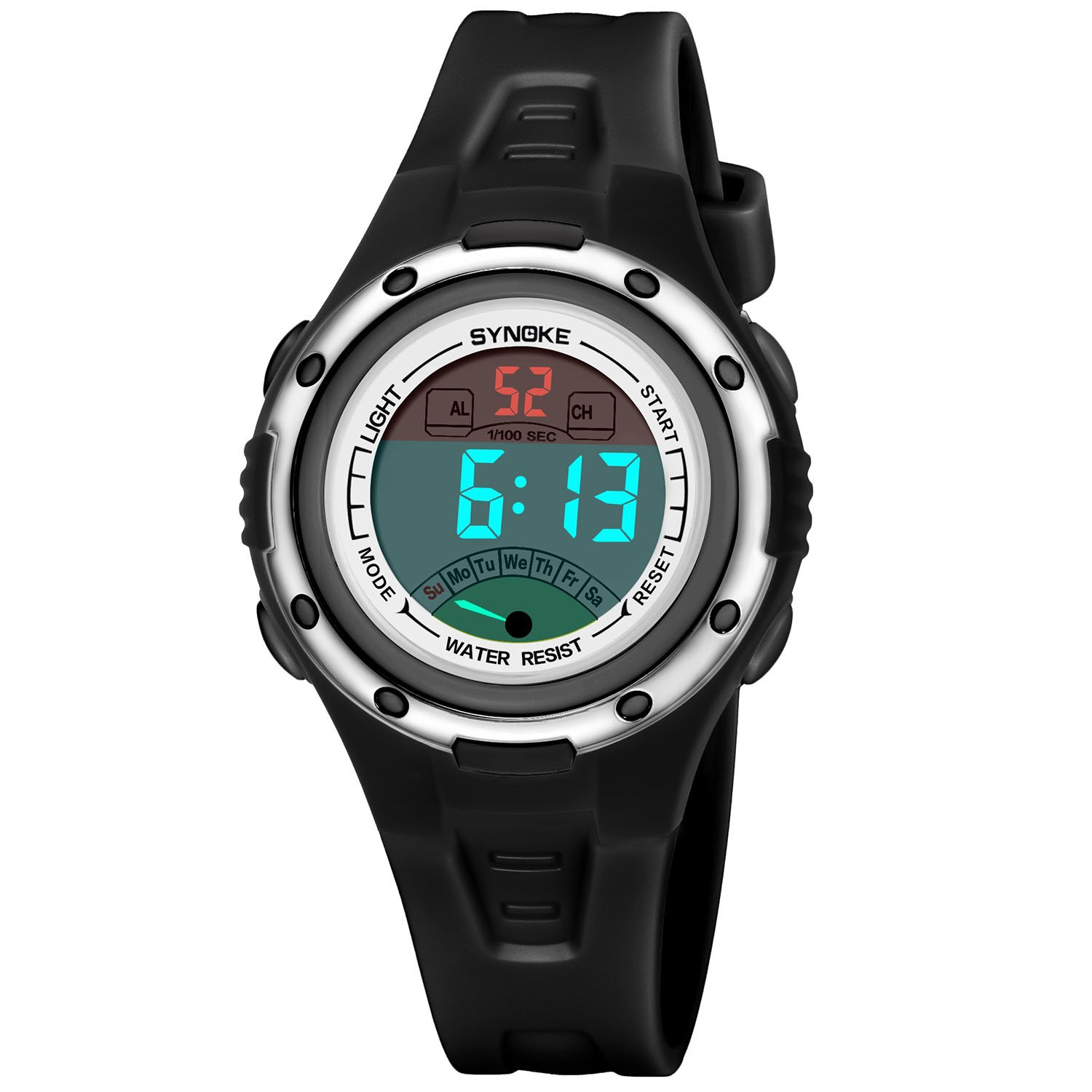 Kids Digital watch Boys Girls Sports Waterproof Watches with Alarms Reminder Stopwatch Outdoor Child Wristwatch for Youth Childrens