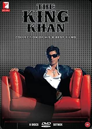 Amazon com: The King Khan (Collection of 8 classic Shahrukh