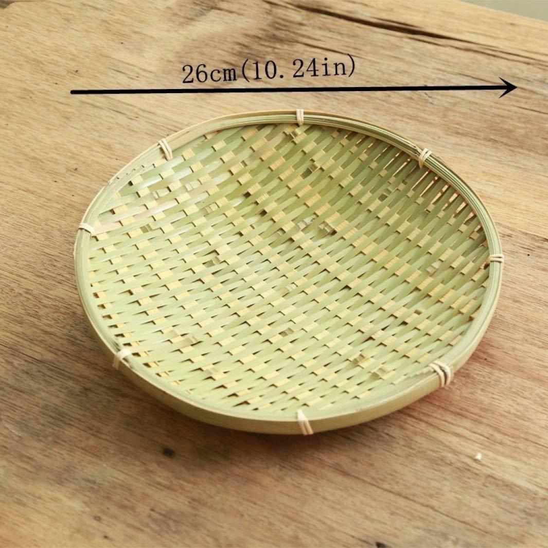 Juego de platos de bambú hechos a mano para aperitivos, para ...