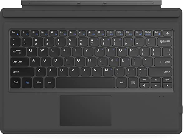 MoKo Surface Pro 4/3 Teclado Inalámbrico Bluetooth - Ultra-Slim Wireless Keyboard (QWERTY) para Microsoft Surface Pro 4/3 Tableta/Panel Táctil 2 ...
