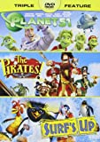 Pirates! Band of Misfits, the / Planet 51 / Surf's up - Vol
