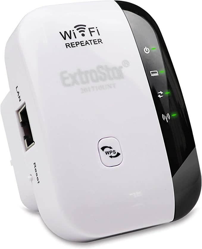 Extrastar Wifi Repeater Wireless Repeater Amplifier 2 4 Computers Accessories