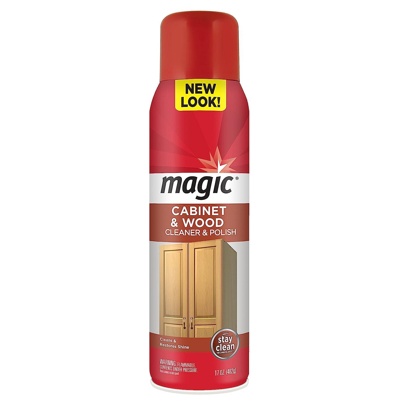 Amazon.com: Magic Wood Cleaner and Polish - 17 Ounce Aerosol Spray ...