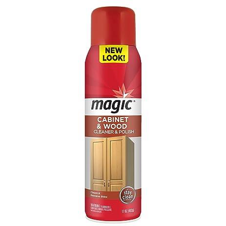 Amazon.com: Magic Cabinet & Wood Cleaner & Polish Aerosol Spray ...