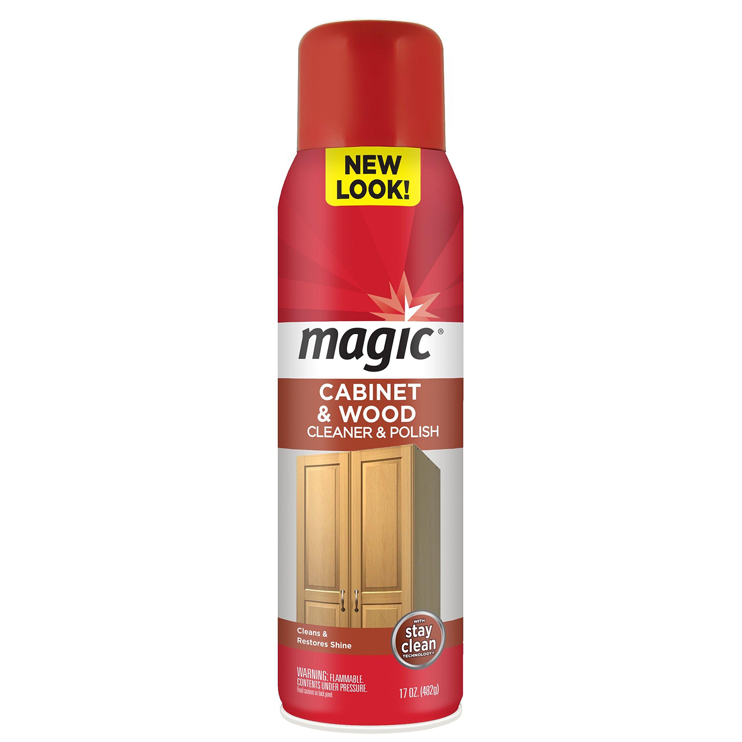 Amazon.com: Magic Wood Cleaner and Polish - 24 Ounce - Use As Wood ...