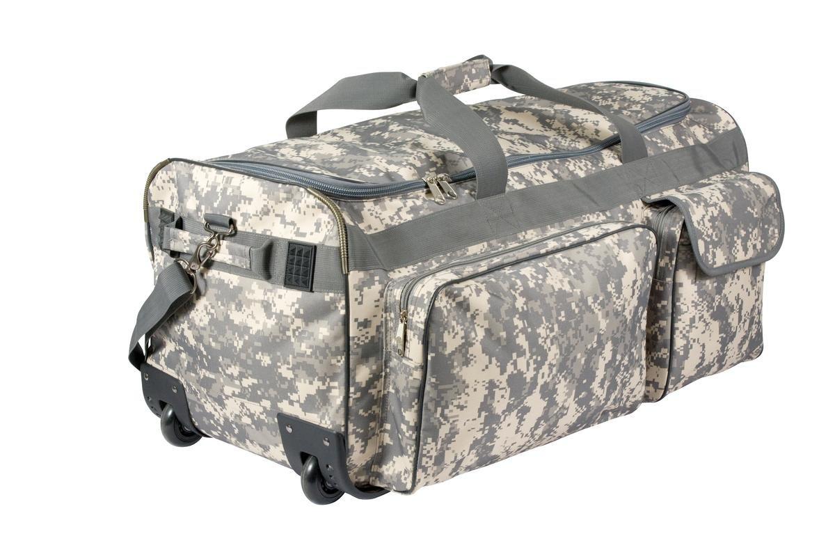ロスコ ミリタリーエクペディション ホイール付き キャリーバッグ ROTHCO Army Digital Camo 30  Military Expedition Wheeled Bag 2654 B008PL4G60