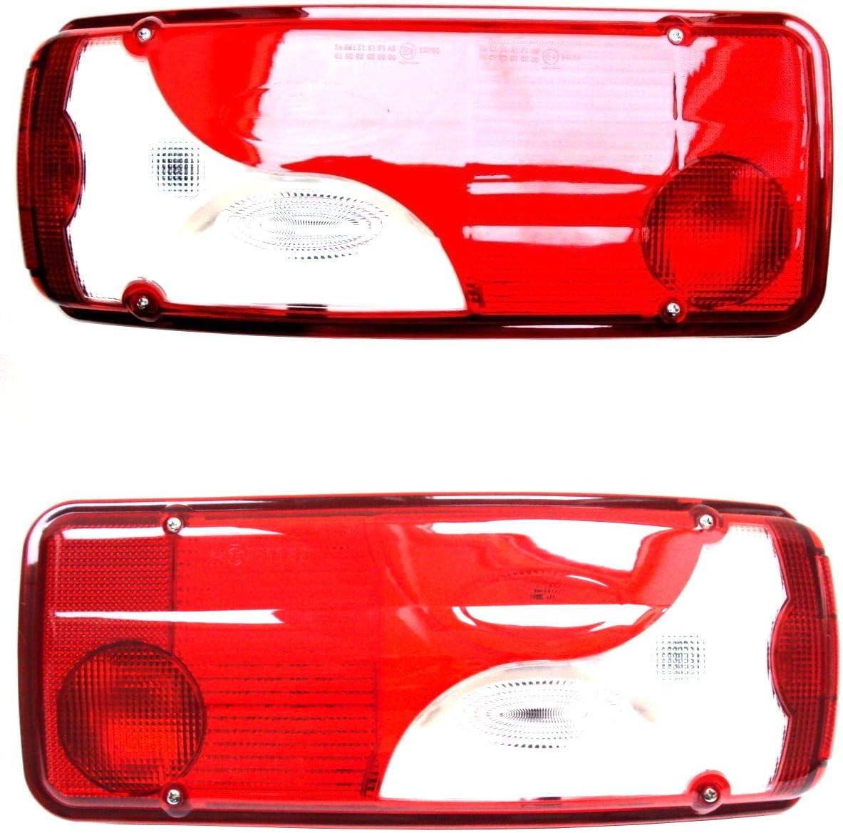 2x Multifunktionales Rückleuchte Heckleuchte Rücklicht Links Und Rechts E4 Universal Für Scania Auto