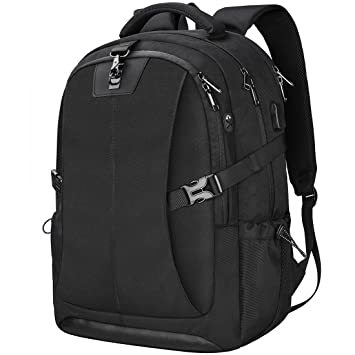 5db04afa60a4 Laptop Backpack 17.3 Inch Travel Anti-Theft Waterproof School Backpack  Business College Large Capacity Gaming Laptop Backpacks USB Charging Port  for ...