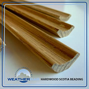 Solid Hardwood Lacquered Oak Scotia Beading Strip 18mm Profile In 2400mm Lengths Pack Of 5 Lengths 12m Amazon Co Uk Diy Tools