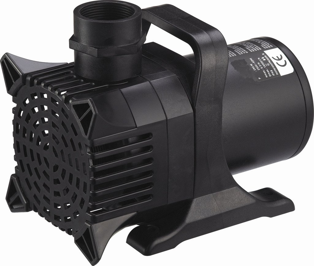 Monsoon MS10000 10000 GPH Submersible Fish Pond Pump with 100 ft. Cord