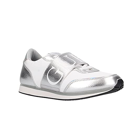 GUESS Zapatillas FLSNG1FAP12-SILVE-T38: Amazon.es: Zapatos y complementos