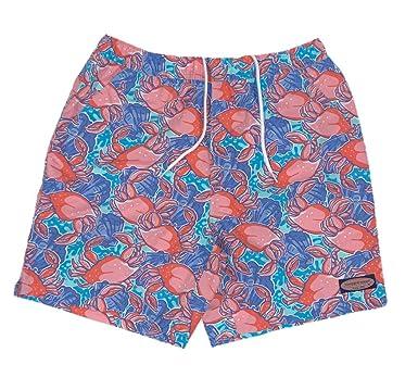 ba797bf8091d6 Vineyard Vines Men s Crab Shell Chappy Short Swim Trunks (X-Large ...