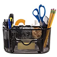 Deals on Simply Genius Metal Mesh Desk Organizer Home & Office Storage