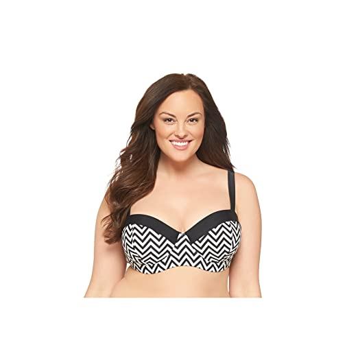 b70cafff8ee Amazon.com  Ava   Viv Women s Plus Size Bikini Swim Top (24W