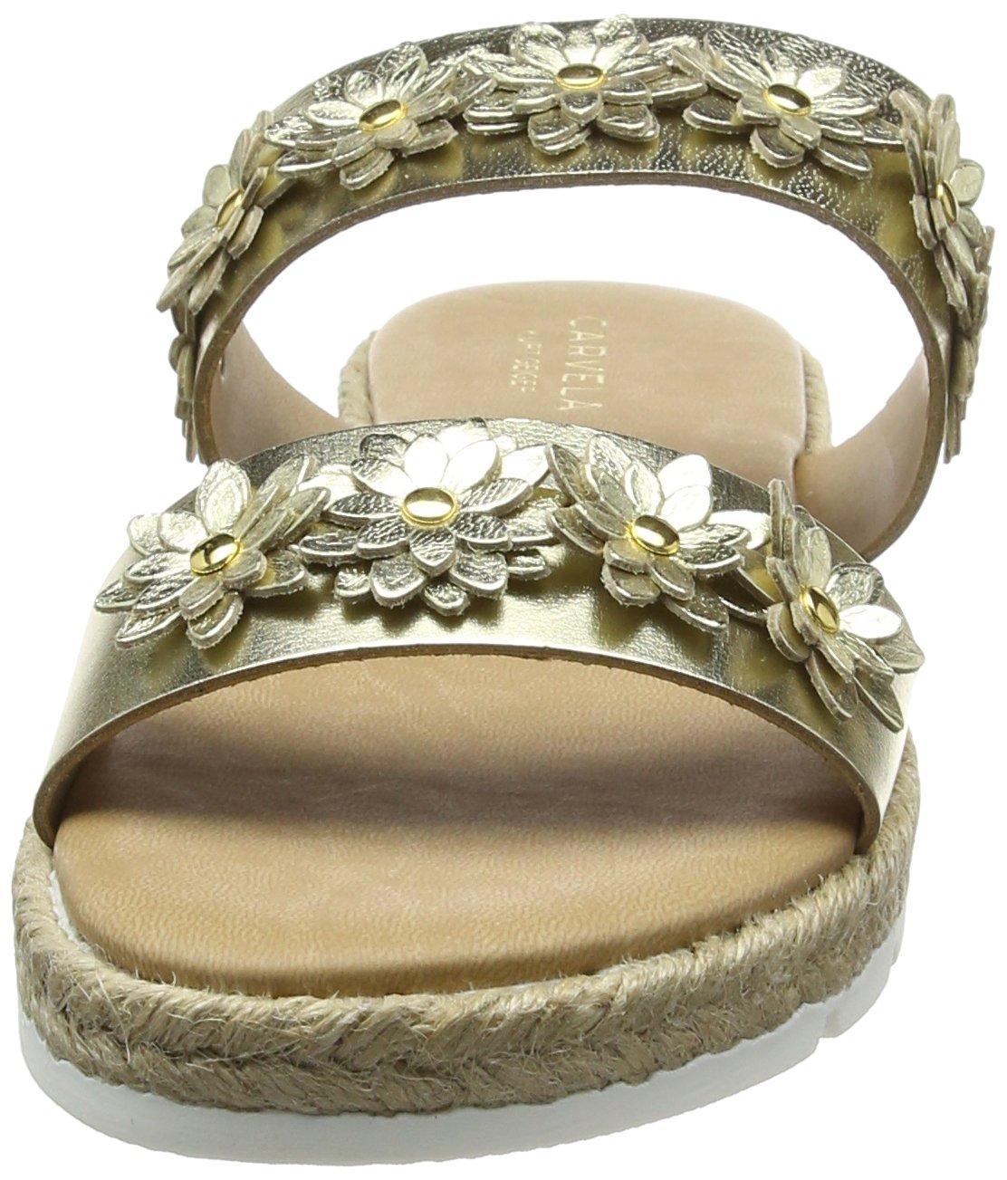 Carvela Damen NP Klaim NP Damen Sandalen Gold (Gold) 67b74c